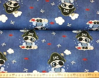 Jersey fabric - pirate - children's fabric cotton jersey meterware 14,00 Euro/meter