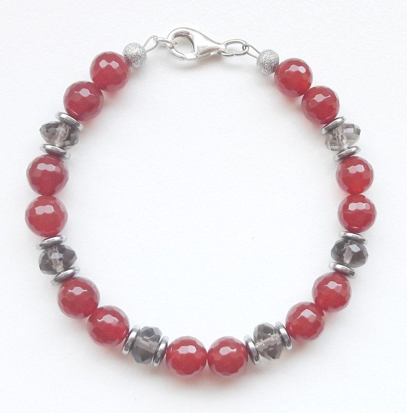 Gemstone bracelet bracelet bracelet bracelet faceted image 0