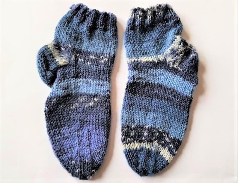 22 23 blue white striped baby socks socks
