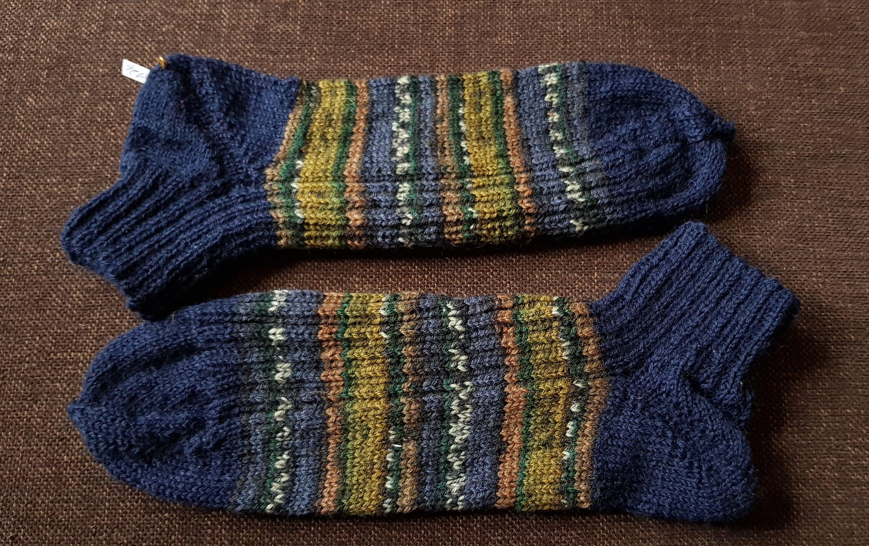 42 43 bleu vert coloré sneaker tricot chaussette rayé tricot chaussettes femmes chaussette tricot hommes tricotés à la main 1840b7