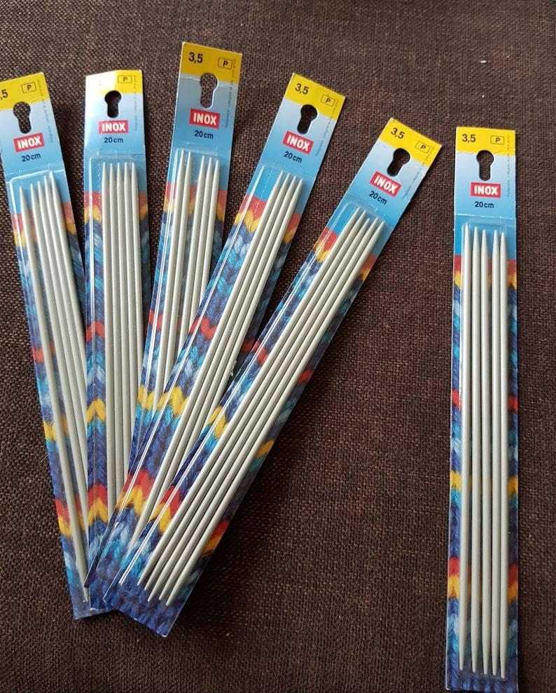 5-set sock pins 2.5 mm 3 mm 3.5 mm 4 mm 4.5 mm 5 mm needle play knitting needles knit socks