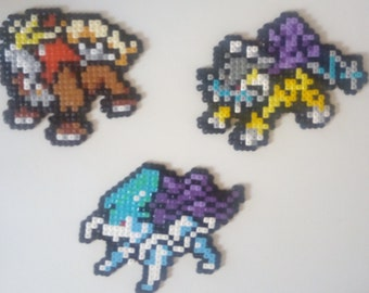 Celebi Legendary Pokemon Perler Beads Pixel Art Etsy