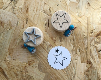 Stempel-Set Sterne