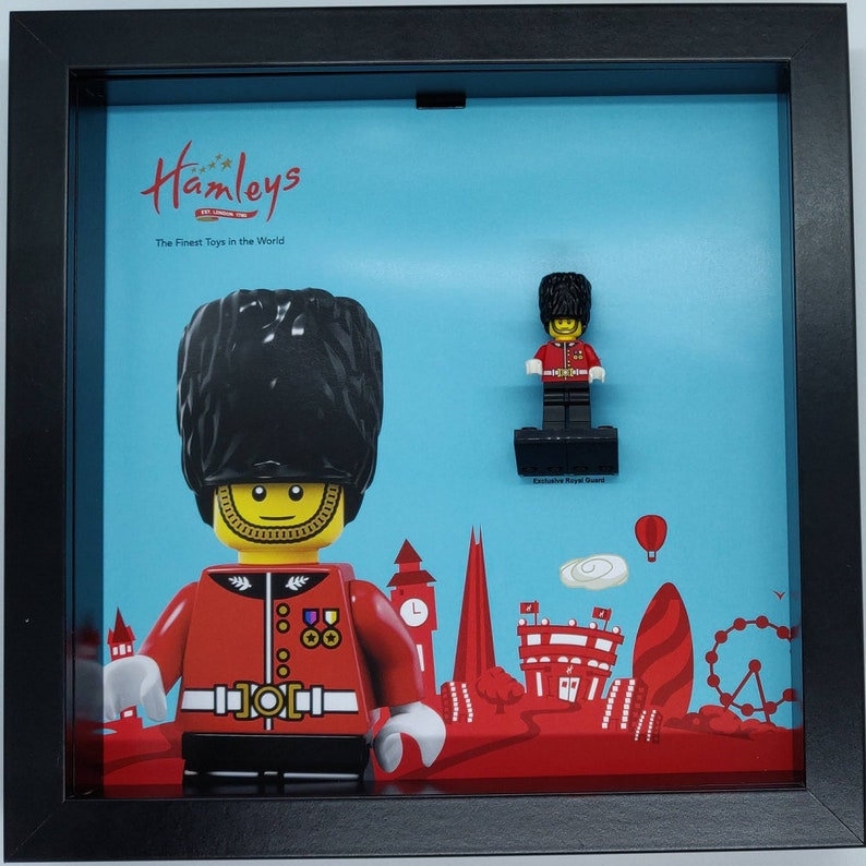 Special MINIFIGURE LEGO Minifigures Display Case // Frame Royal Guard