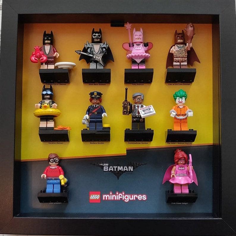 Genoeg LEGO Minifigure Display Case / Frame Batman Series 1 | Etsy #NV04