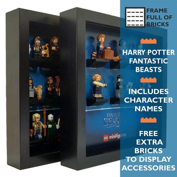 Minifigure Display Case Frame Lego Fantastic Beasts Harry Potter mini figures