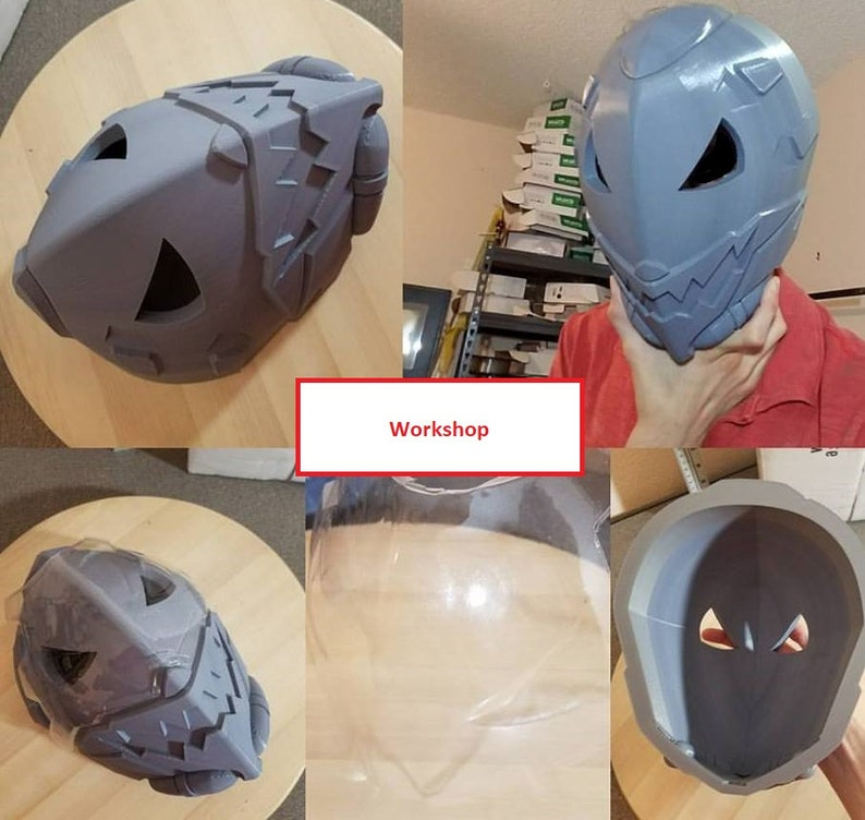 Ana Ghoul Overwatch Cosplay Mask