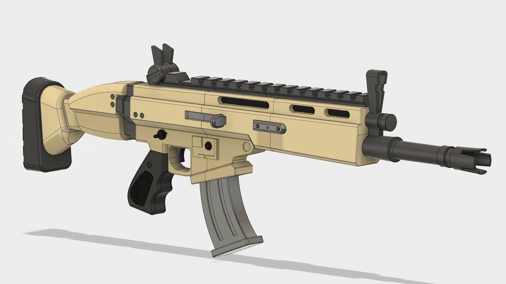 Fortnite Rifle Etsy