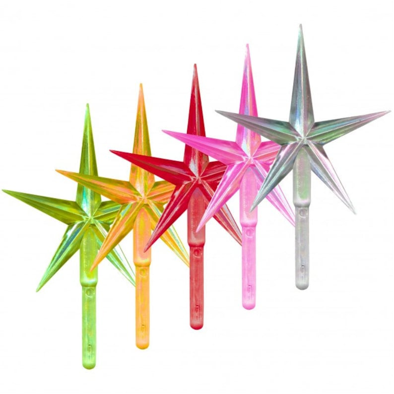 MEDIUM Modern Tree Star Choose Color Replacement for Vintage Ceramic Tree