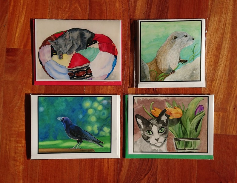 Greeting cards gift cards art cards bday cards blank image 0