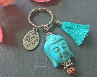 Buddha Keychain, boho