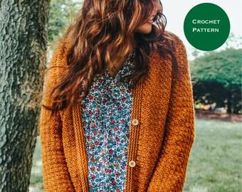 Ava Cardigan || Crochet Pattern