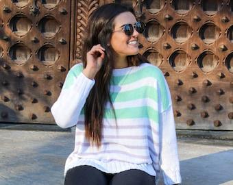 Sea Isle Sweater || Knit Pattern