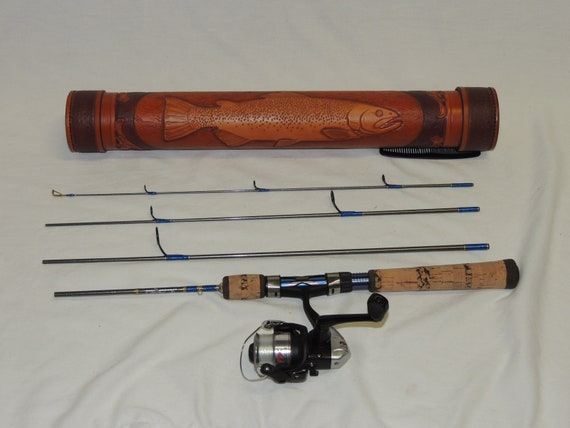 Fishing Rod And Case Etsy
