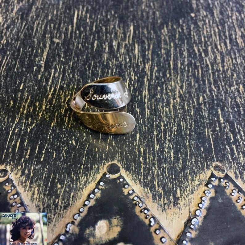 Vintage Florida Souvenir Rings Unisex Jewelry Kids