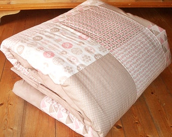 XXL Crawling Blanket 150 x 150 cm MILA Patchwork Blanket
