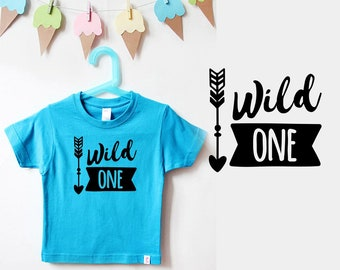 Birthday shirt kid   Wild one turquoise-first birthday shirt-1st birthday shirt-t-shirt 1st birthday-birthday outfit