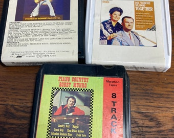 8 Track Tape, Tape, Elvis Soundtrack, Piano Country, Bobby Munro, Doc, Chickie Williams