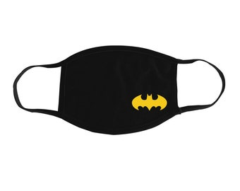 2 Layer Cotton BRAND NEW Sealed shipping Batman Face Mask Washable Reversible