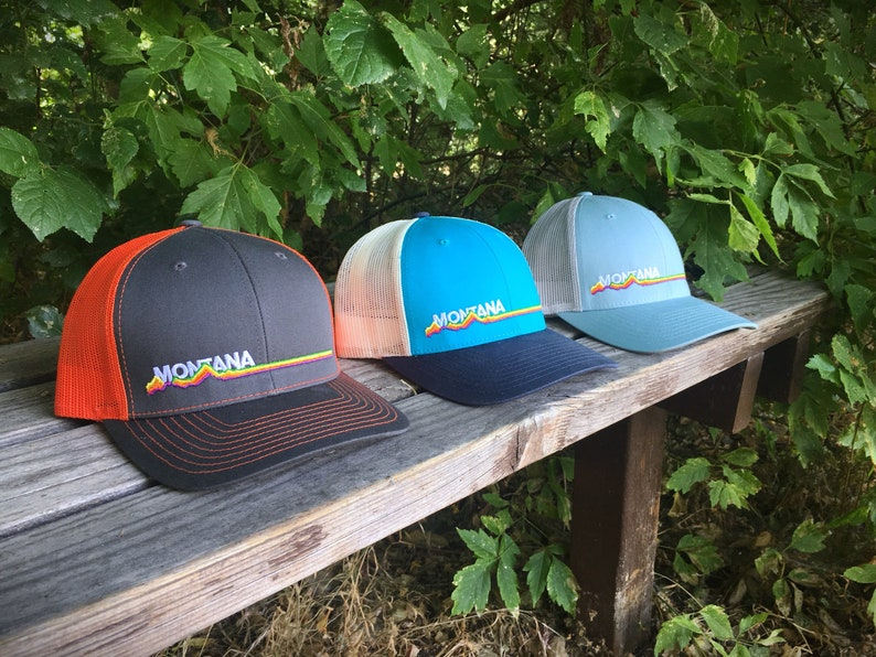Retro Montana Trucker Hat