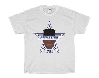 Dallas Cowboys Deion Sanders Primetime Short Sleeve Tee T Shirt 2018 New 2fb229ac3