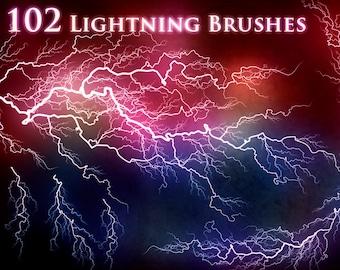 102 Lightning Electricity Brushes
