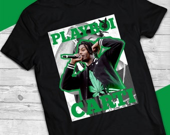 f00ba199ef8 Playboi Carti High Quality Unisex Vintage Tee Shirt