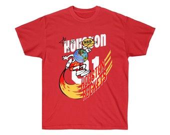 f86c9b8a498e9f Travis Scott Remixes The Houston Rockets Tee Shirt - Jersey For A Mitchell    Ness Collab T Shirt