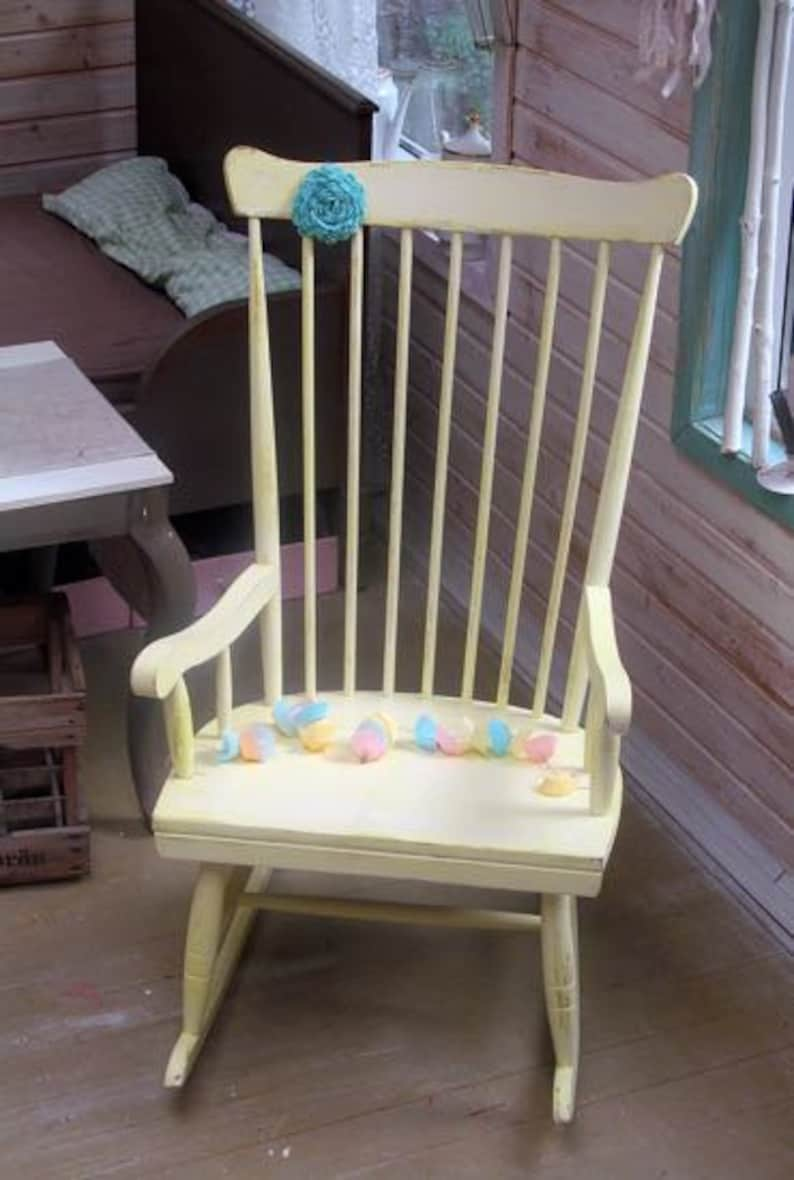 Rocking Chair  Vanilla  image 0