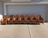 Set of 7 Janus ET Cie Napoleon side Chairs