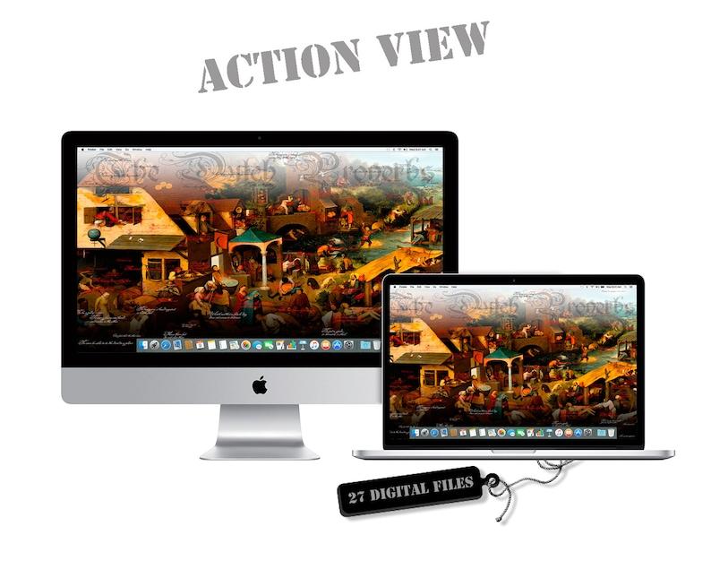 Pc Wallpaper 1920x1080 Mac Windows Desktop Pack Of 27 Pc Etsy