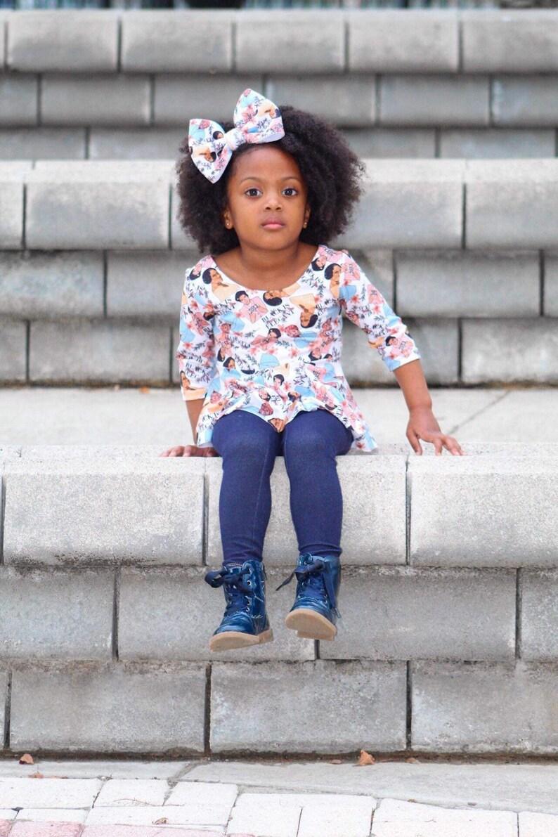 Black History Month Plush Bows