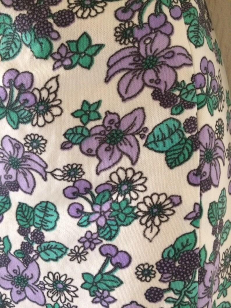 Vintage NWT \u2022 womens skirt and top set \u2022 floral skirt \u2022 floral shirt \u2022 midi skirt \u2022 vintage outfit \u2022 summer dress