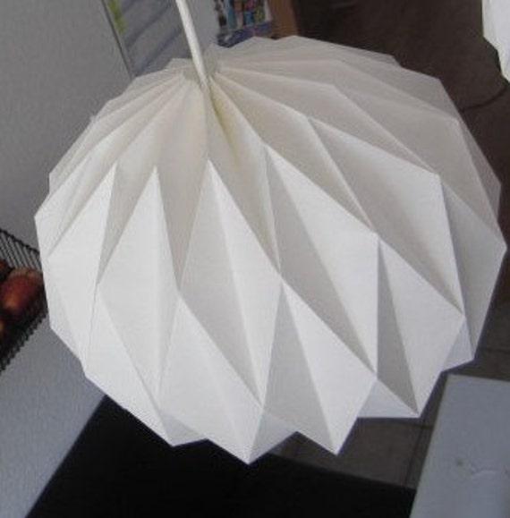Origami De Lampe Origami Abat Jour Boule Papier Papier Lampe