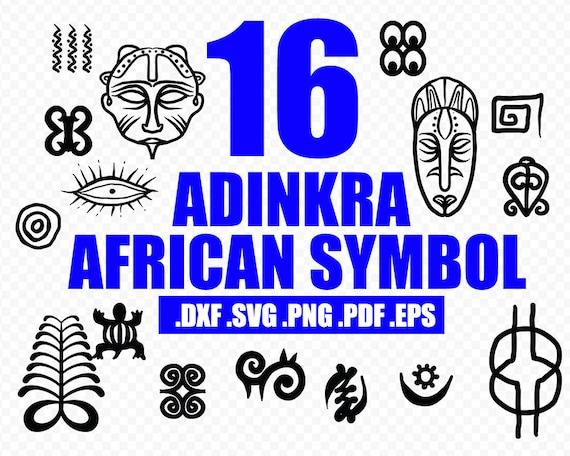 Adinkra African Symbols Svg Africa Svg Adinkra Charm Adinkra Symbol Africa Symbol Dxf Eps Png Pdf