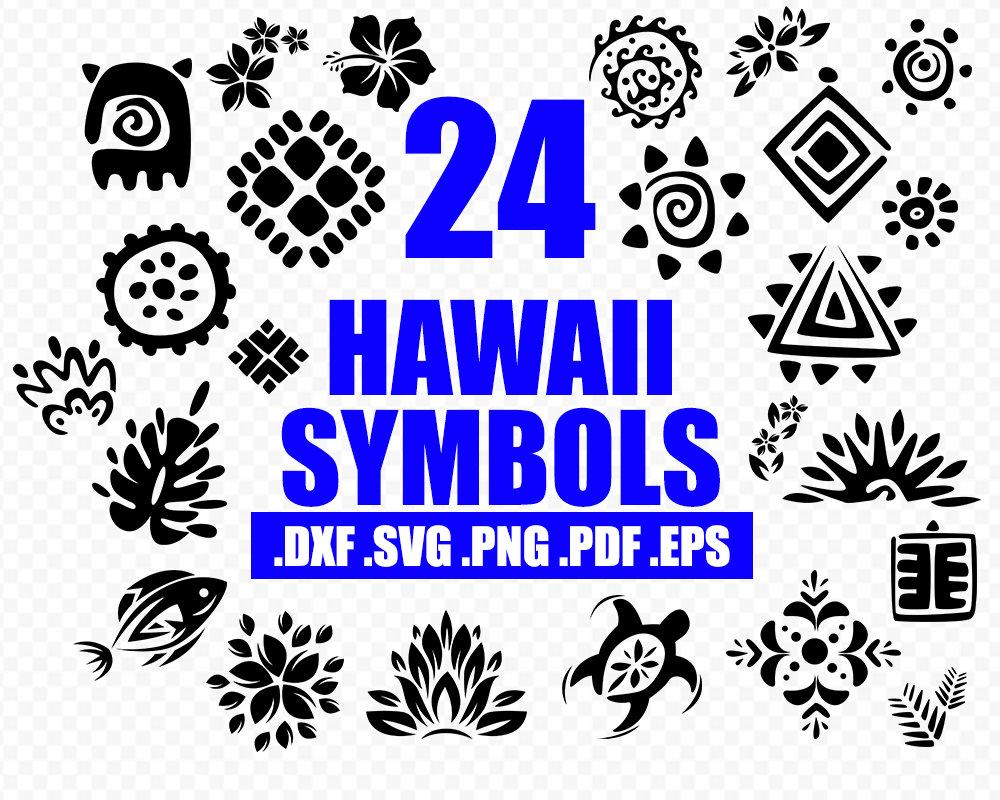 Hawaii Symbole