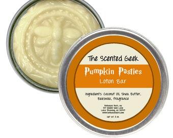 Pumpkin Pasties Lotion Bar - 2 oz Solid Lotion Bar - Spiced Pumpkin - Wizard Gifts - Pumpkin Fragrance - Pumpkin Lotion - The Great Hall