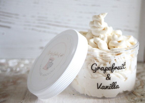 Grapefruit body  whip , organic ingredients, Hemp Oil, Essential oils