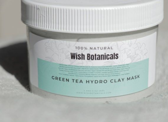 GREEN TEA HYDRO Face mask Moisturizing healthy skin