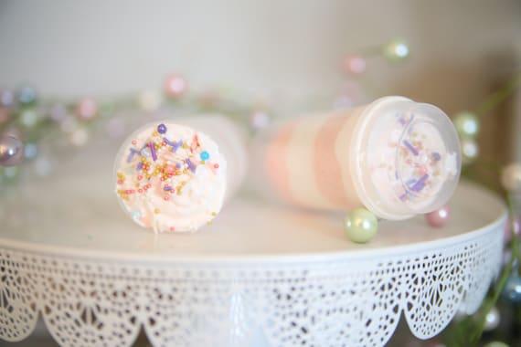 BATH BOMB PUSH pop, bath fizz, bath bomb, birthday, bridal, bachelorette party, skin care, orange cream