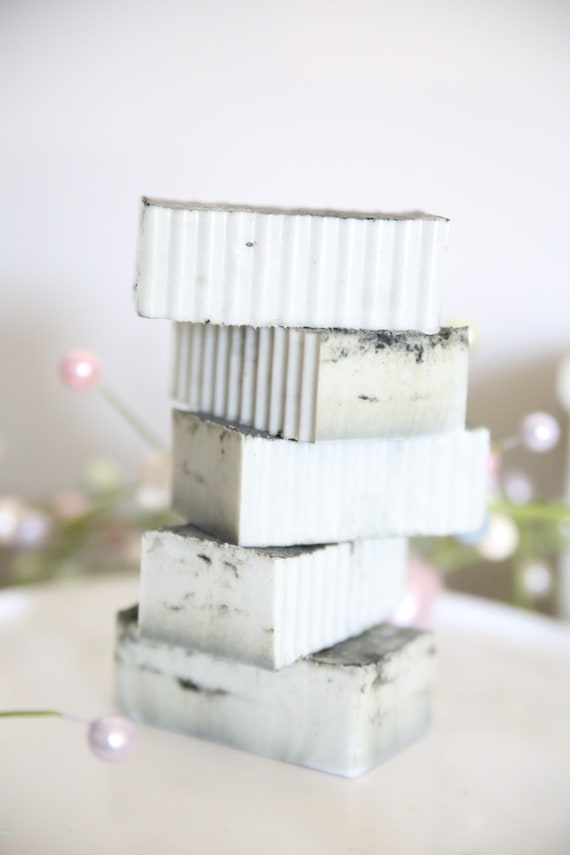 Bar Soap with Donkey Milk and Goats Milk, Facial scrub • Acne fighting & break outs prevention • Organic Skincare