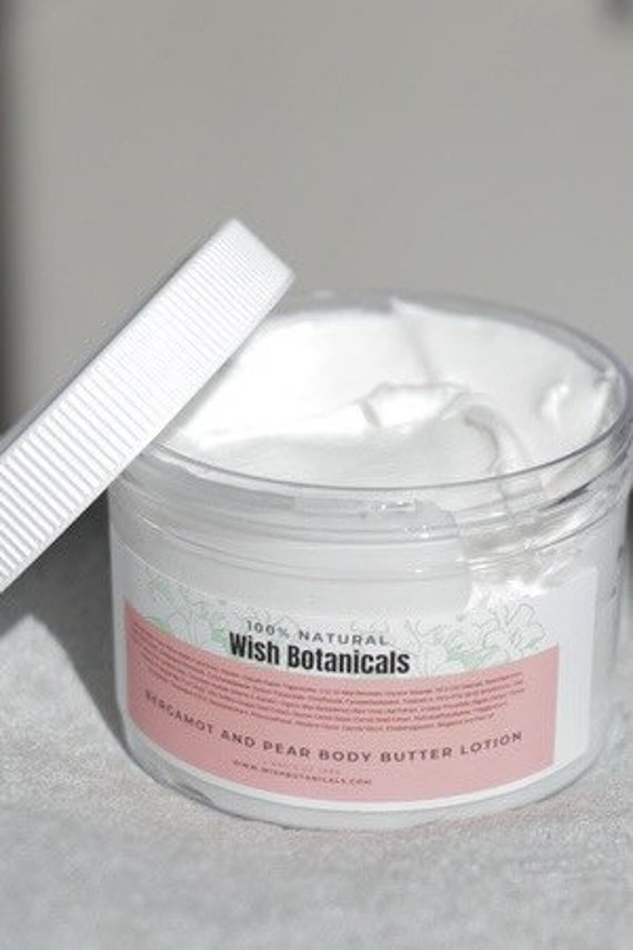 Face Cream SKIN PREVENT Bergamot/pear and botanicals • Aging Prevention, Organic Facial Care, Organic Skincare, AntiAging Wrinkle Cream
