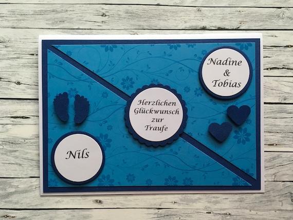 Glückwunschkarte Zur Traufe Traufe Karte Hochzeit Und Taufe