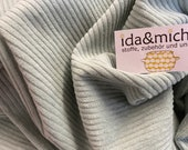 0.5 m Hanabi - Widecord - mint - light old mint - 100 cotton cord
