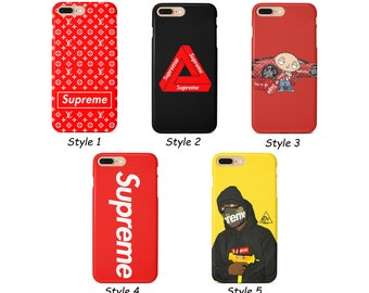 new product eea61 d648f Supreme phone case for iPhone Xs Max Xr 10 X 7 8 6 Plus, Samsung S8 S8 S9  Plus S7 Edge
