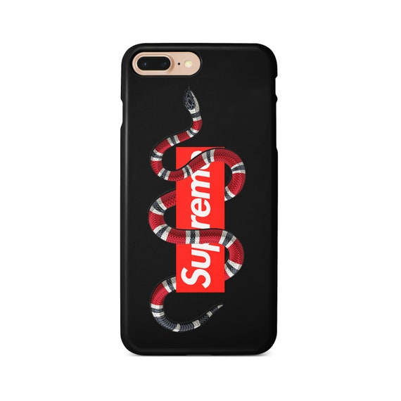aspetto dettagliato 505cb 32ab5 Gucci snake phone case for iPhone Xs Max Xr 10 X 7 8 6 Plus, Samsung S8 S8  S9 Plus S7 Edge