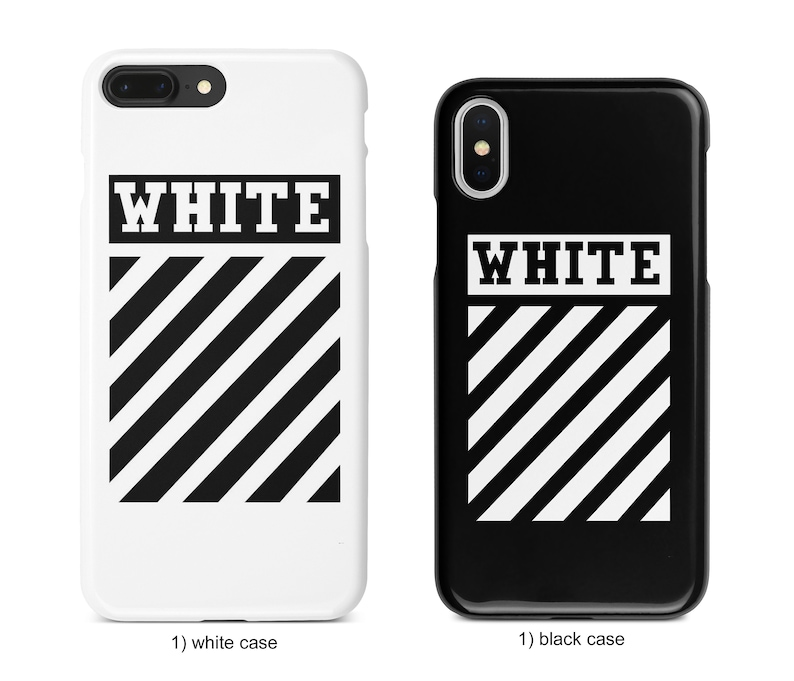 official photos 39ca1 2dc13 OW off-white phone case for iPhone Xs Max Xr 10 X 7 8 6 Plus, Samsung S8 S8  S9 Plus S7