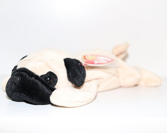 Pugsly - Mint Condition 1996 TY Beanie Baby 518065f1ca