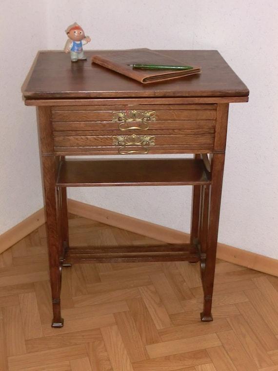 Klapptisch Antik.Antik Spieltisch Klapptisch Jugendstil