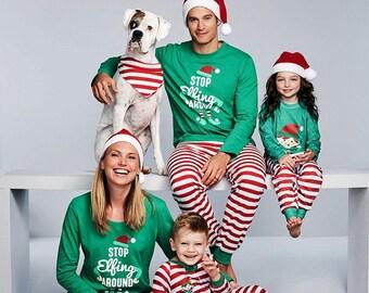adult family matching christmas pajamas pjs
